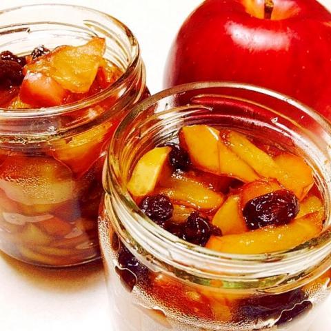 簡単  フライパンで煮りんご