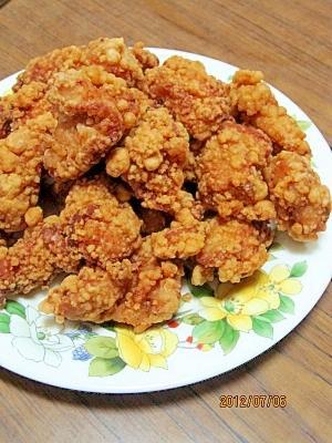 鶏の竜田揚げ (我が家の味)