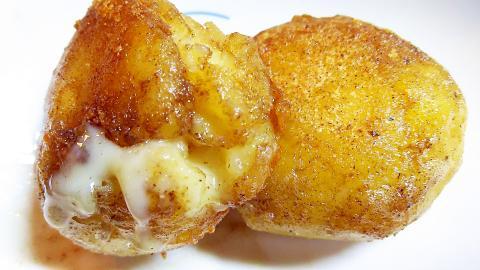カマンベールチーズのじゃがいも包み焼き