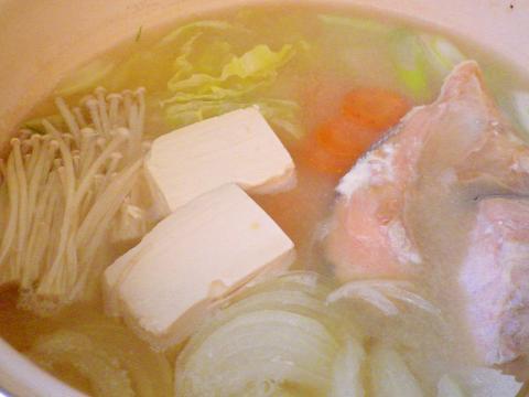 石狩鍋(ゆず味噌)