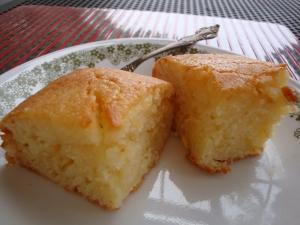 超簡単☆混ぜるだけ レモンヨーグルトケーキ