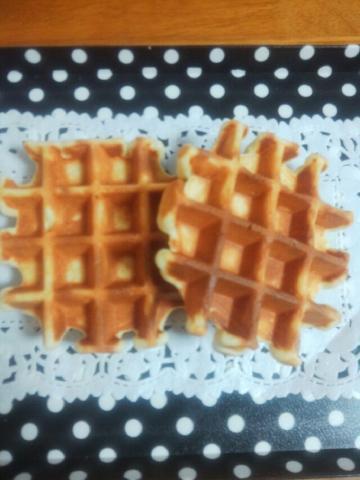 ビタントニオで朝食用ワッフル