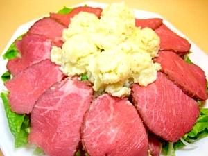 クリスマスに食べたい!簡単ローストビーフオードブル