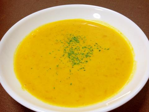 ミキサー不使用☆かぼちゃスープ