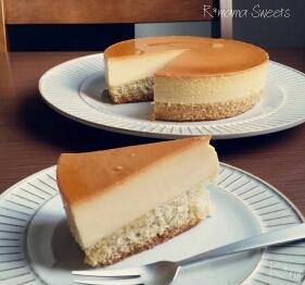 人気おやつ!簡単なのに豪華に見えるプリンケーキ♥