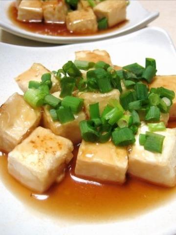 簡単すぎ?フライパン一つの揚げ出し豆腐