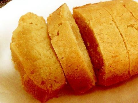 混ぜるだけ!バター不使用!米粉のパウンドケーキ