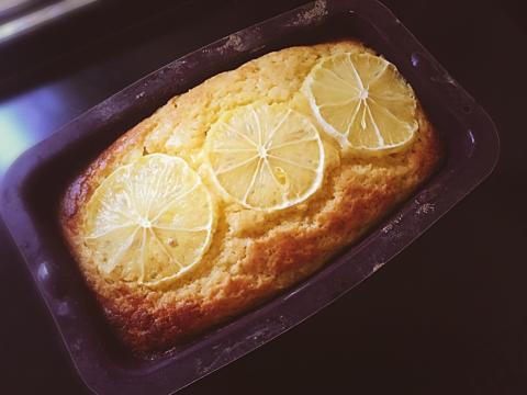 低糖質☆グルテンフリーのレモンケーキ