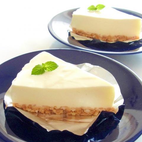 普通のレアチーズケーキ