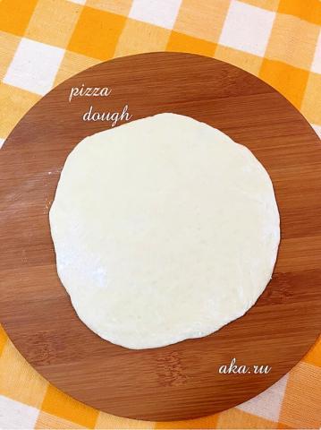 我が家の簡単ピザ生地♪