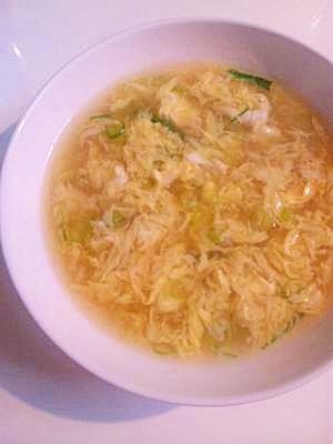 本格派たまごスープ!卵がふわっふわに仕上がるコツ♪