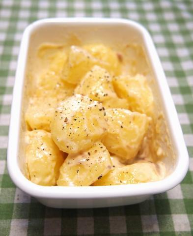 レンジde常備菜 アンチョビ入りポテトサラダ