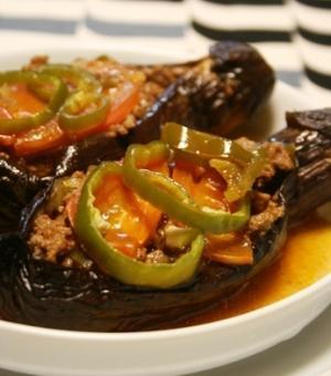 トルコ料理★お坊さんが気絶した(茄子のオーブン焼き